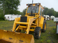 tracteur pelle loader john deere