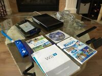 Wii U Deluxe Console - 3 games & 2 controllers