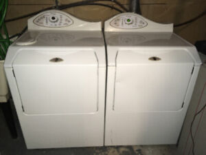 "Washer and dryer, front loading units. ""Maytag Neptune"" Must go!"