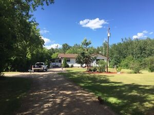 Home & acreage for sale