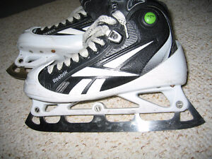 Reebok 11k Goalie skates 6.5 Step Steel Strathcona County Edmonton Area image 2