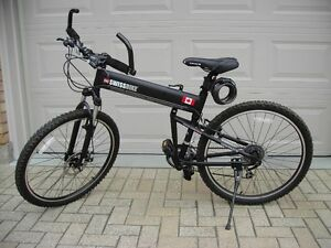 Foldable Mountainbike by Montague