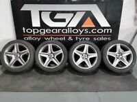 "20"" GENUINE OEM MERCEDES ML ALLOY WHEELS & TYRES"