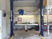 Mechanic shop turnkey