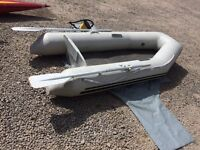 Inflatable Tender and Electric Outboard Motor