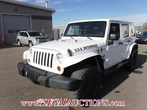 2011 JEEP WRANGLER UNLIMITED SAHARA 4D UTILITY 4WD UNLIMITED SAH