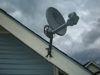 SATELLITE TV DISH INSTALLER-MOVES/UPGRADES/SALES/PARTS +MORE
