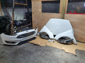Ford focus 2016 complete front end frozen white