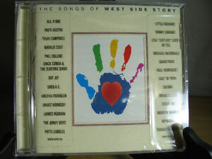 The Songs of West Side Story -NEW CD