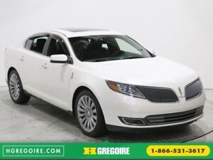 """2013 Lincoln MKS AWD CUIR TOIT PANO MAGS 20"""" PARK ASSIST"""