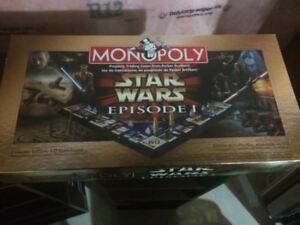 Star Wars episode 1 monopoly Star Wars chess