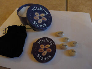 Brand new in box set of wishing stones and booklet London Ontario image 1