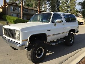 1983 GMC Jimmy, full size 4x4 classic - PRICE REDUCED