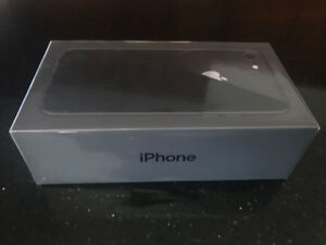 Brand new, sealed box iPhone 8 256GB (+1 year Apple warranty)