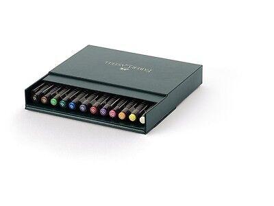 Faber Castell Box (Faber-Castell PITT Artist Pen 12er brush Atelierbox)