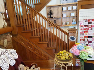 Architectural Salvage oak stairs