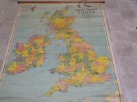 Vintage Political Map