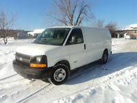 2005 Chevrolet Express 2500 CARGO VAN 160,000 KMS  WORK VAN