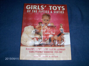 GIRLS' TOYS OF THE 50'S & 60'S-SEARS WISHBOOKS-HOLLAND-RARE!