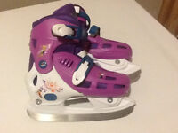 Tinker bell Adjustable Skates, Size 13Y to 2.5