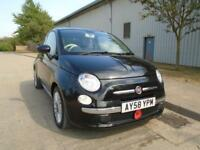 FIAT 500 1.3 MULTIJET DIESEL LOUNGE AIR CON ALLOYS GLASS ROOF 60,000 MILES