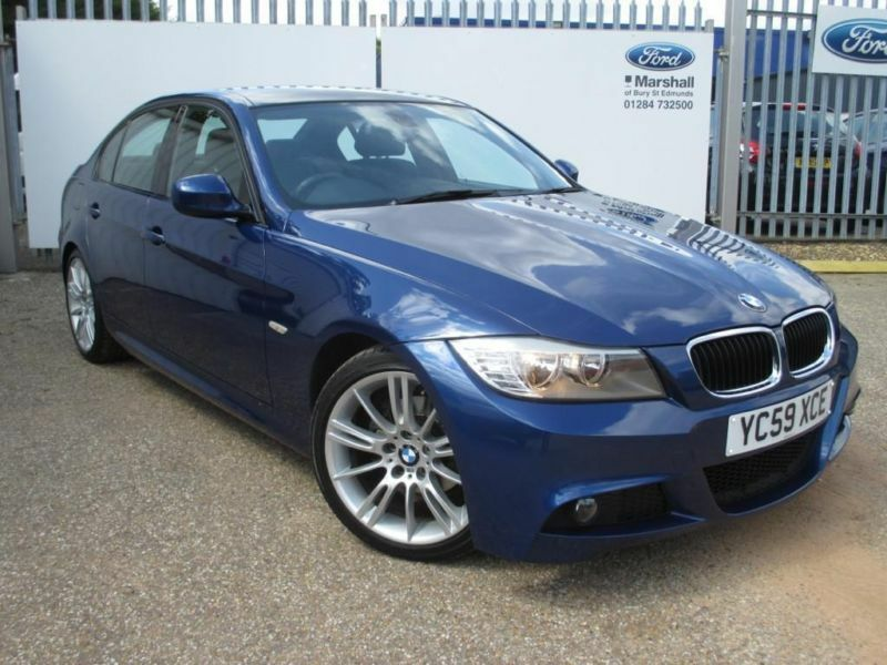 2010 bmw 3 series 3 318i m sport bus edit 4dr petrol blue. Black Bedroom Furniture Sets. Home Design Ideas