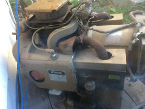 Kohler 7000 watt twin cylinder generator ran excellent engine wi