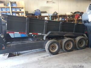 2013 Diamond Dump Trailer  Tri axle 21000 lbs capacity