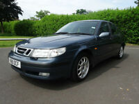 Saab 9-5 2.3t auto SE - bargain low mileage
