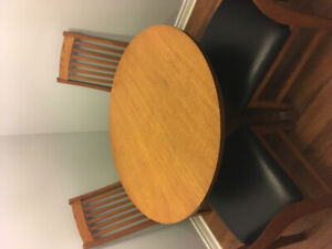 Table and 4 Chairs $200.00