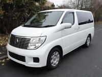 2005 Nissan Elgrand 2500 4WD FRESH IMPORT FACE LIFT MODEL 5dr