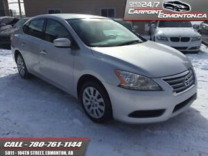 2014 Nissan Sentra S MODEL AUTO ONLY 59780 KMS!!!  ONLY 59780 KM