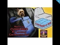 Car booster cushion safety seat for pet . £15