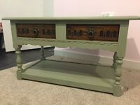 Antique Shabby Chic Coffee Table