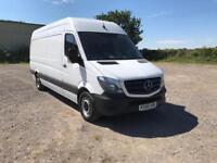 Mercedes-Benz Sprinter 313 3.5T LWB Euro 6 DIESEL MANUAL WHITE (2016)