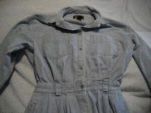 Eddie Bauer Jean Dress sz L