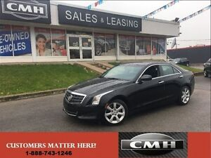 2014 Cadillac ATS 2.0 Turbo   RWD BOSE PUSHSTART LEATHER *CERTIF
