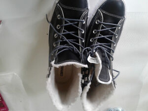 Winter boots .