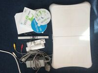 Nintendo Wii and Wii Fit Plus Game and Board