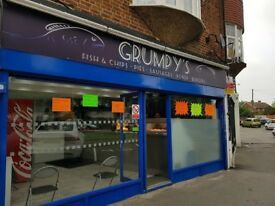 GRUMPY'S FISH & CHIPS FOR QUICK SALE , REF: LM260