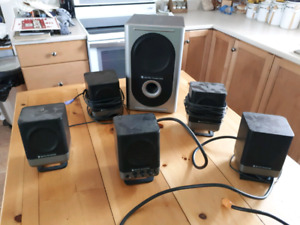 Altec Lansing 251   5.1 Surround Sound Amplified Computer System