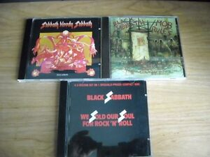 Black Sabbath 3 CD en etat Neuf