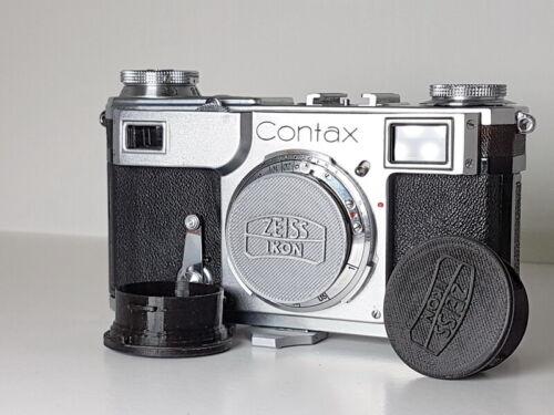 Custom Petrakla Contax body cap, one grey or black, Free shipping!