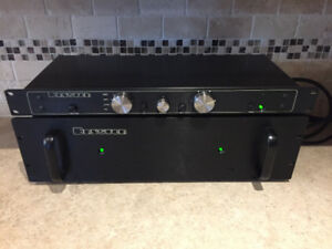 Bryston 3B Stereo Amplifier and Bryston .5 Pre-amplifier