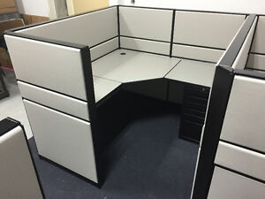 Refurbished Office Cubicles Like New Condition Any Size & Colour Windsor Region Ontario image 4