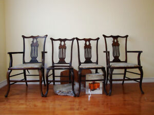Chippendale Set for sale English Antique bought in London after