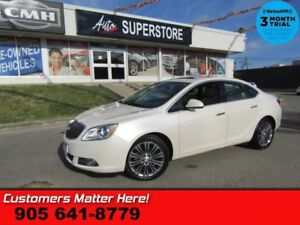 2014 Buick Verano Leather Package  ROOF CAM AUDIO-NAV BOSE BS LD