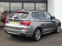 2014 BMW X3 2.0 20d M Sport xDrive 5dr