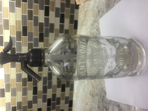 Wentworth Mineral Water Co. Hamilton Ont. Soda Water Bottle