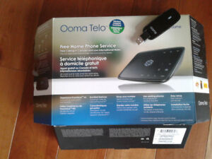 Ooma Telo -home Voip system with wireless adapter